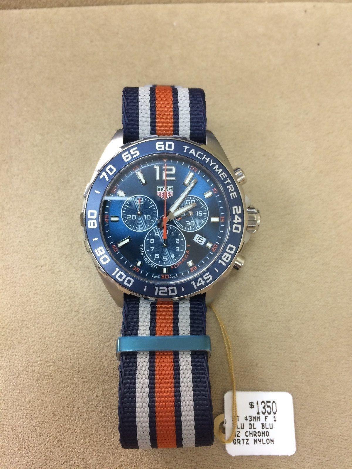99ec13224ee4 New Tag Heuer Formula 1 Chronograph Stainless Steel Quartz Watch  caz1014.fc8196