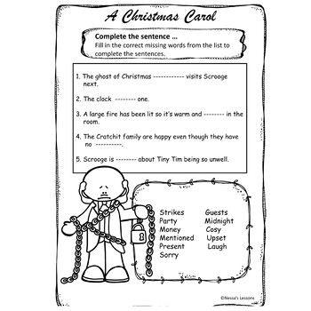 A Christmas Carol (Adapted) Stave 3 NO PREP (With images) | Christmas carol