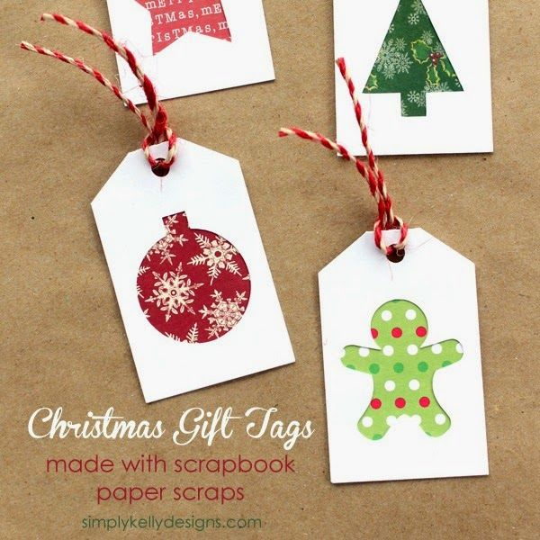 http://simplykellydesigns.com/blog/2014/11/19/diy-christmas-gift-tags-with-scrapbook-paper-scraps/