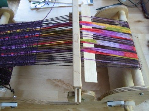 Ribbons in the warp