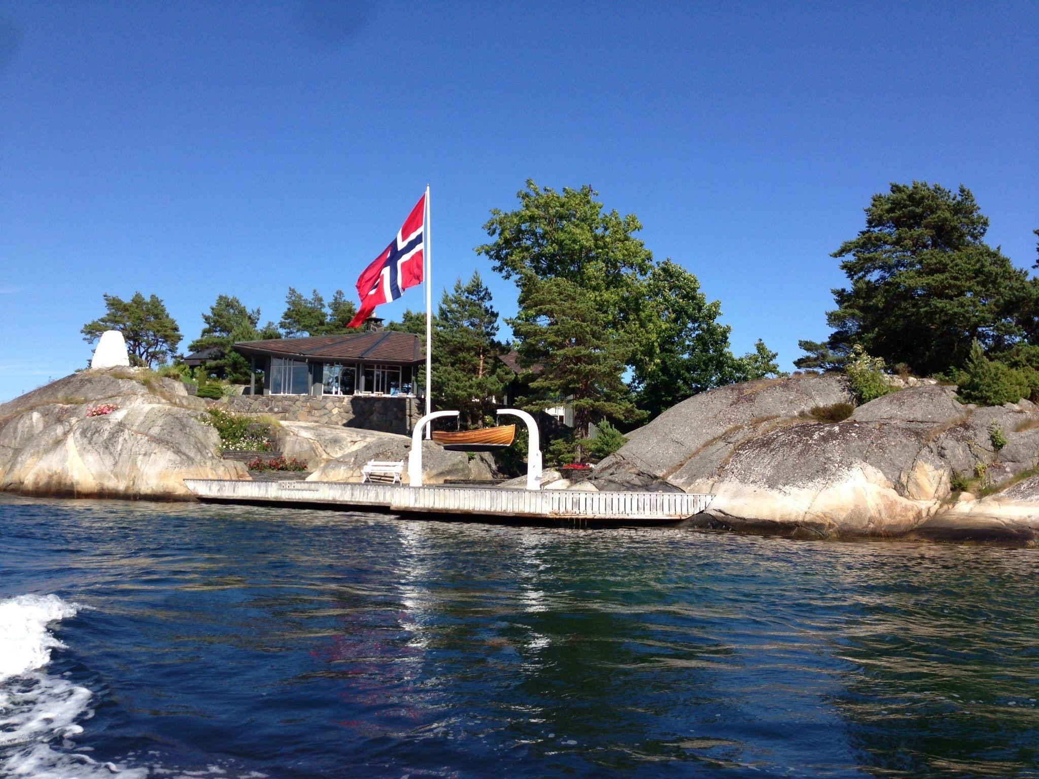 Cabin in Blindleia, Lillesand.  Photo: Elisabeth Høibo©Visit Sørlandet