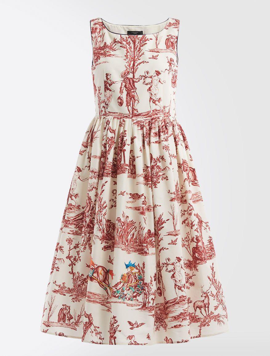 b8b8528eab Trophy Day - Cotton faille dress Weekend Maxmara