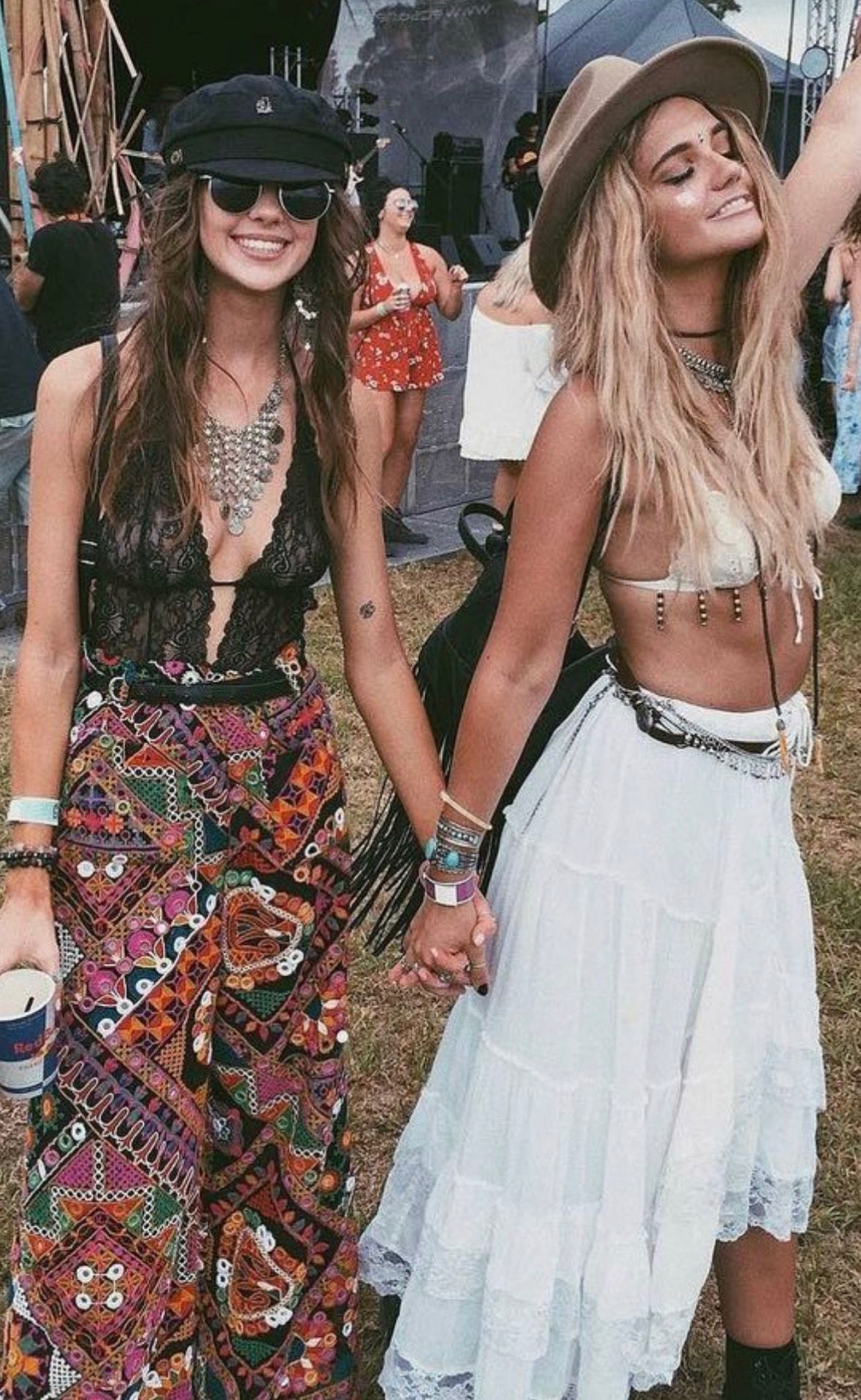 Bohemian Style Boho Themed Party Outfit
