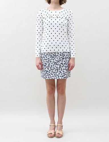 APC Jean Skirt- Blanc Casse