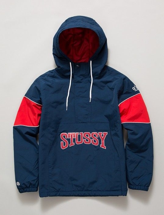 Stussy Sport Pullover Jacket  ecb412ce99c