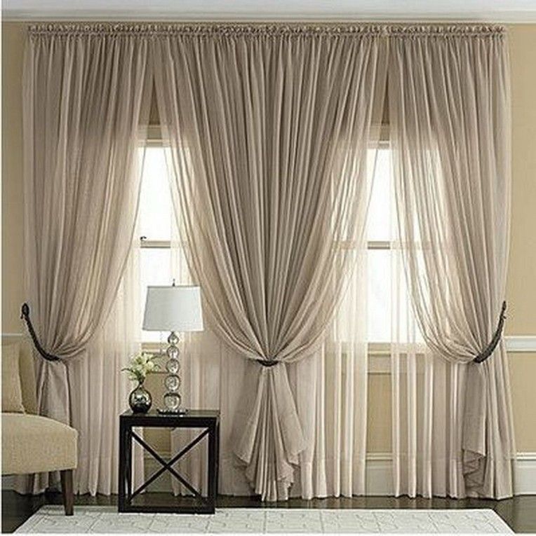 40 remarkable living room curtain