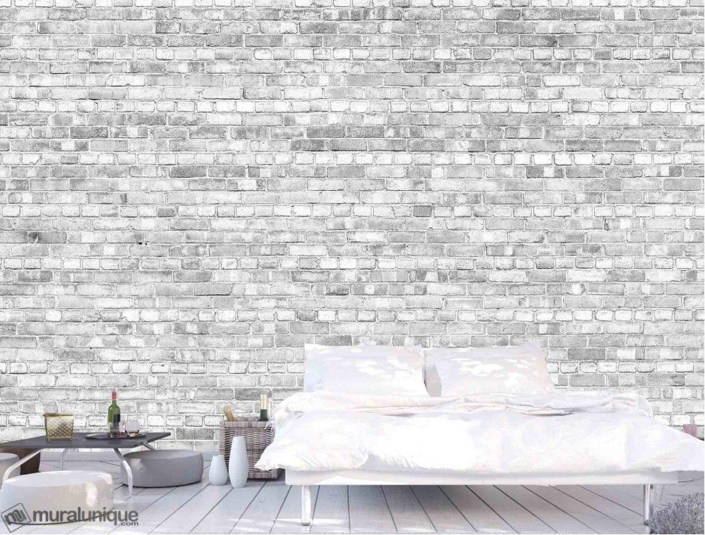 Vieux Mur De Briques Noir Et Blanc Version Pâle Achetez En Ligne Des Murales En Papier Peint Décoratives Mu Old Brick Wall Old Bricks Concrete Block Walls