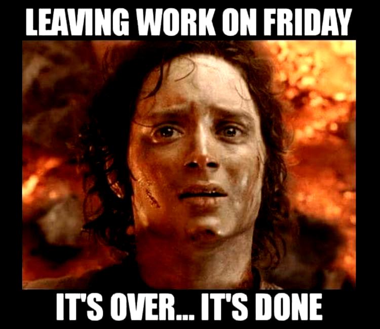 Leaving work on Friday (2020) Leaving work on friday