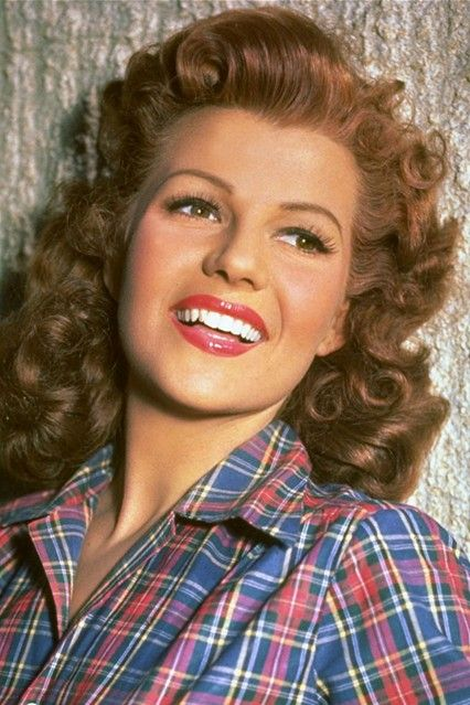 Rita Hayworth #hollywoodicons