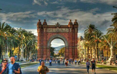 Arco De Triumfo, Barcelona