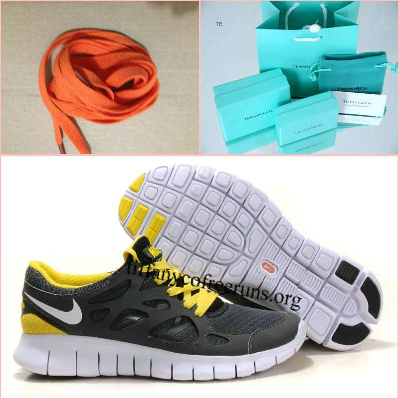 a02da737554b ... Womens Nike Free Run 2 Gray Yellow Shoes 49.99  Cheapest ...