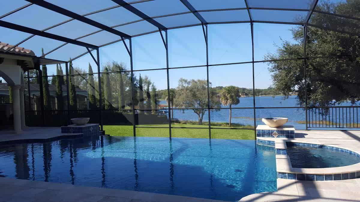 At Repairmiamicleaning Com We Offer Fast Quality Pool Patio Pool Enclosure Screen Repair Services In Miami We Offer Pool Cage Pool Screen Enclosure Pool