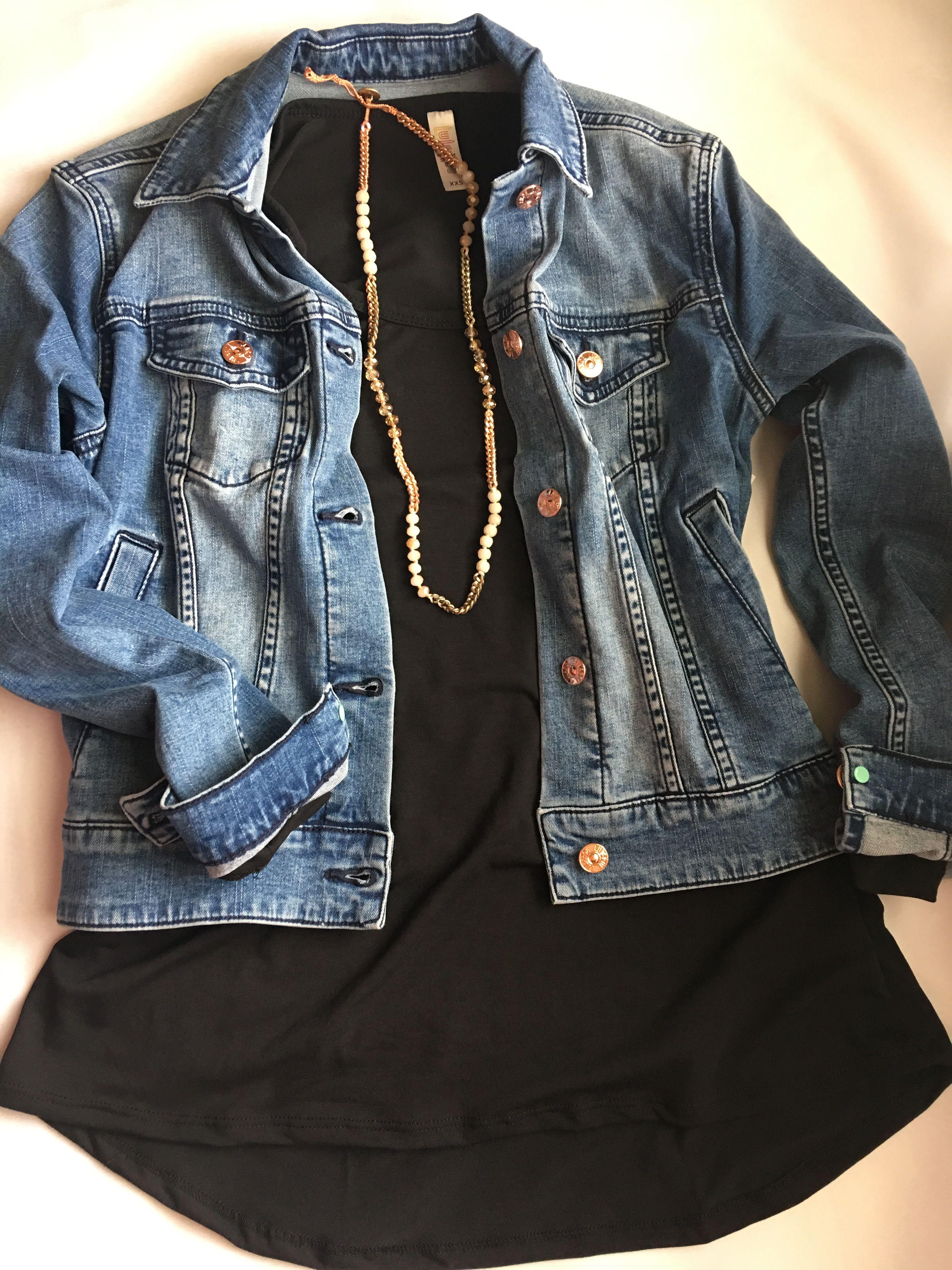 Rose Gold Buttons On This Harvey Jacket Are Sooo Good Denim Jacket Jackets Denim [ 4032 x 3024 Pixel ]