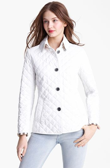 Burberry Brit 'Copford' Quilted Jacket at Nordstrom.com. Diamond ... : nordstrom burberry quilted jacket - Adamdwight.com
