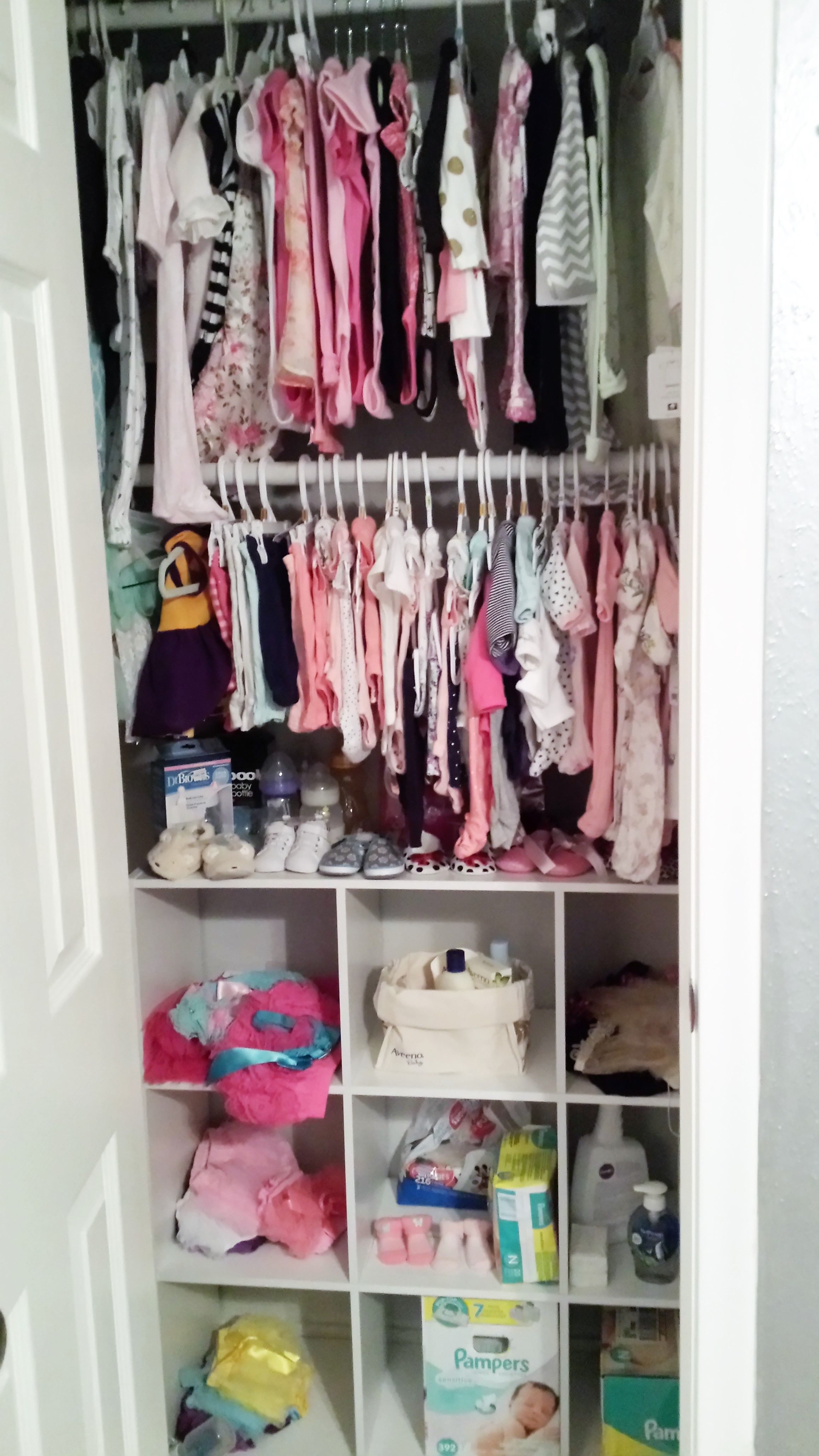 closets regarding choose nursery baby different white home piece style throughout your wooden delta closet ba organizer in color