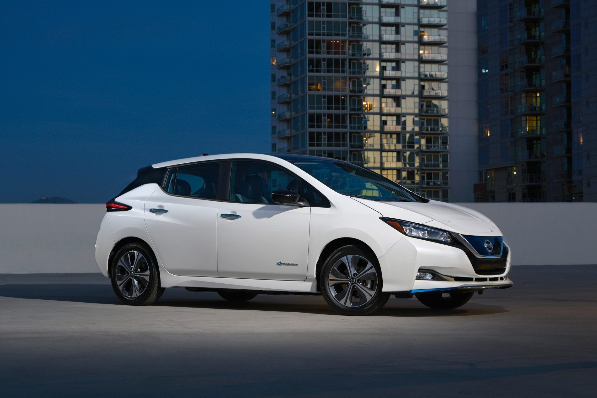 Nissan Leaf E Plus Is A Long Range Leaf That S Better Positioned