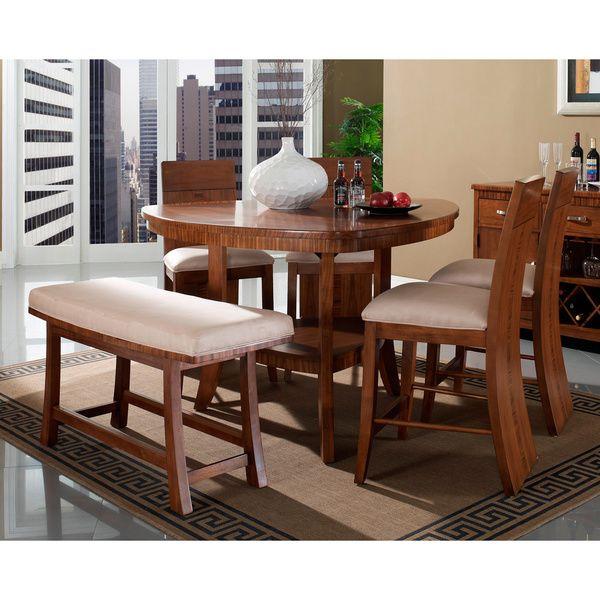 Etonnant Somerton Dwelling Milan 6 Piece Counter Height Dining Set By Somerton  Dwelling