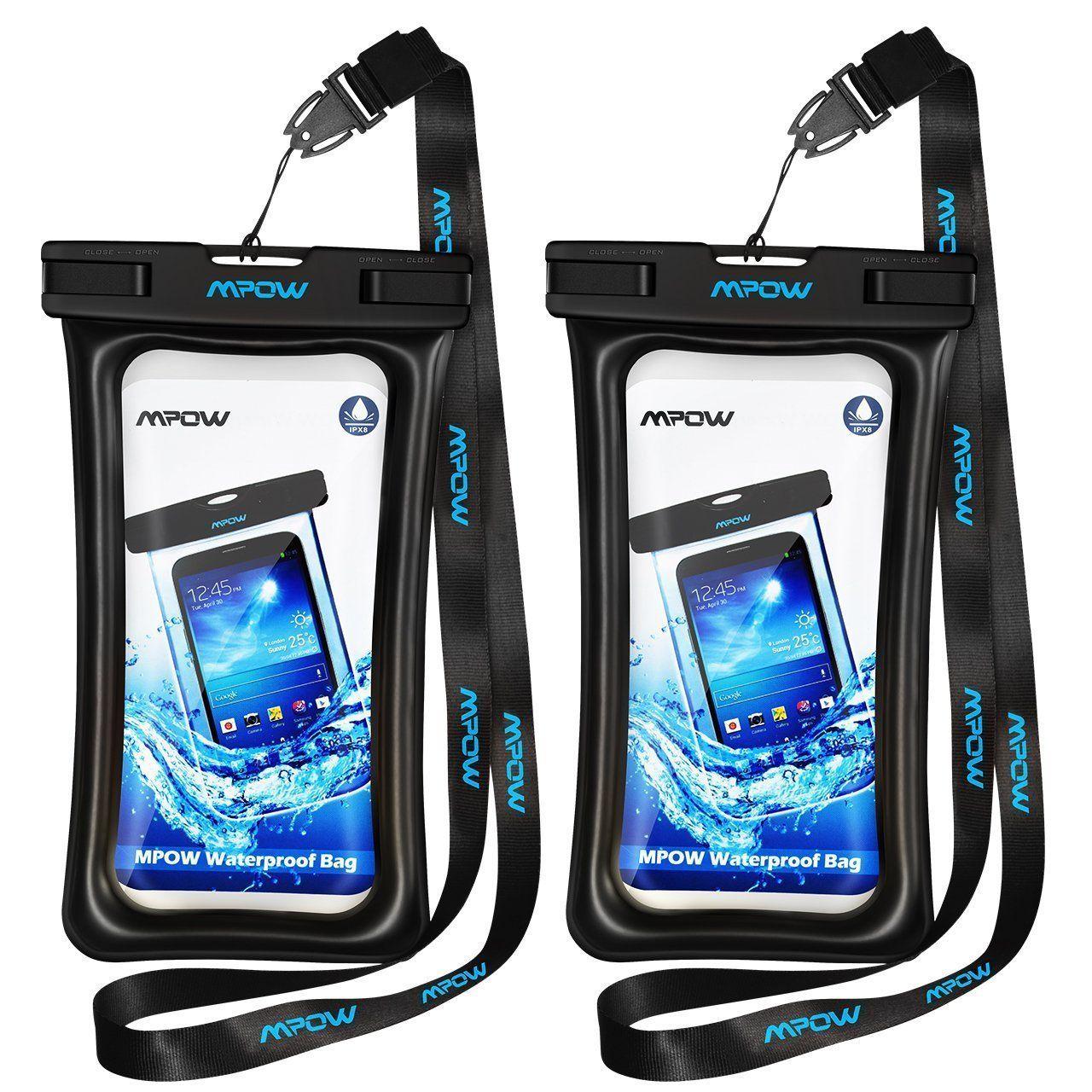 huge selection of 613e4 7cee1 Amazon.com: Mpow Floating Waterproof Case, IPX8 Waterproof iPhone ...