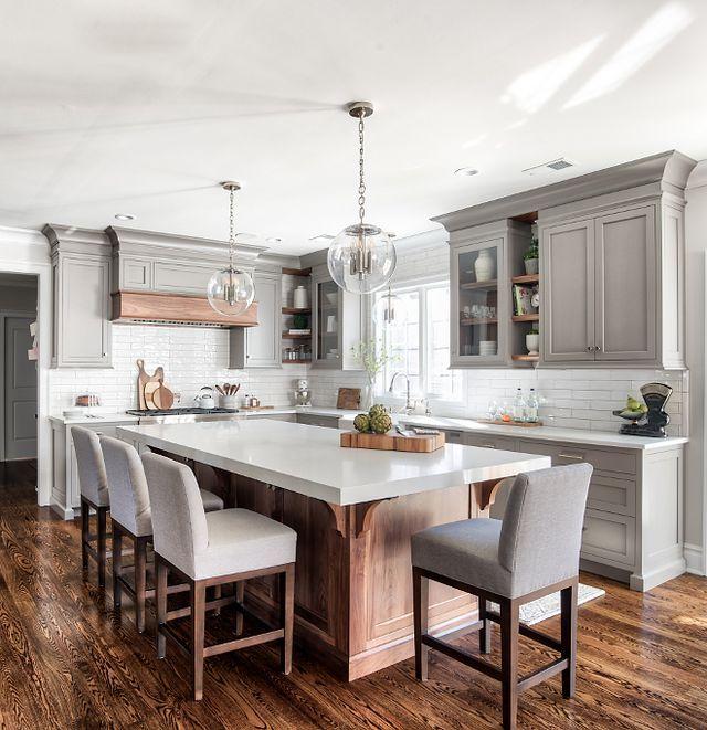 Grey Kitchen Design (Home Bunch - An Interior Design & Luxury Homes Blog) #greykitchendesigns