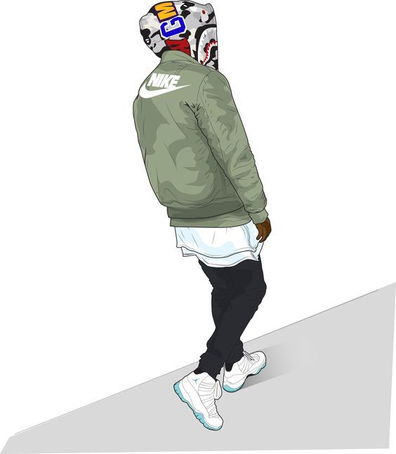 Trill Art, Bape, Supreme, Swag Fashion, Cartoon Art, Dope Wallpapers,  Tumblr, Hip Hop, Batman