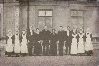 Downton Staff by davielaird