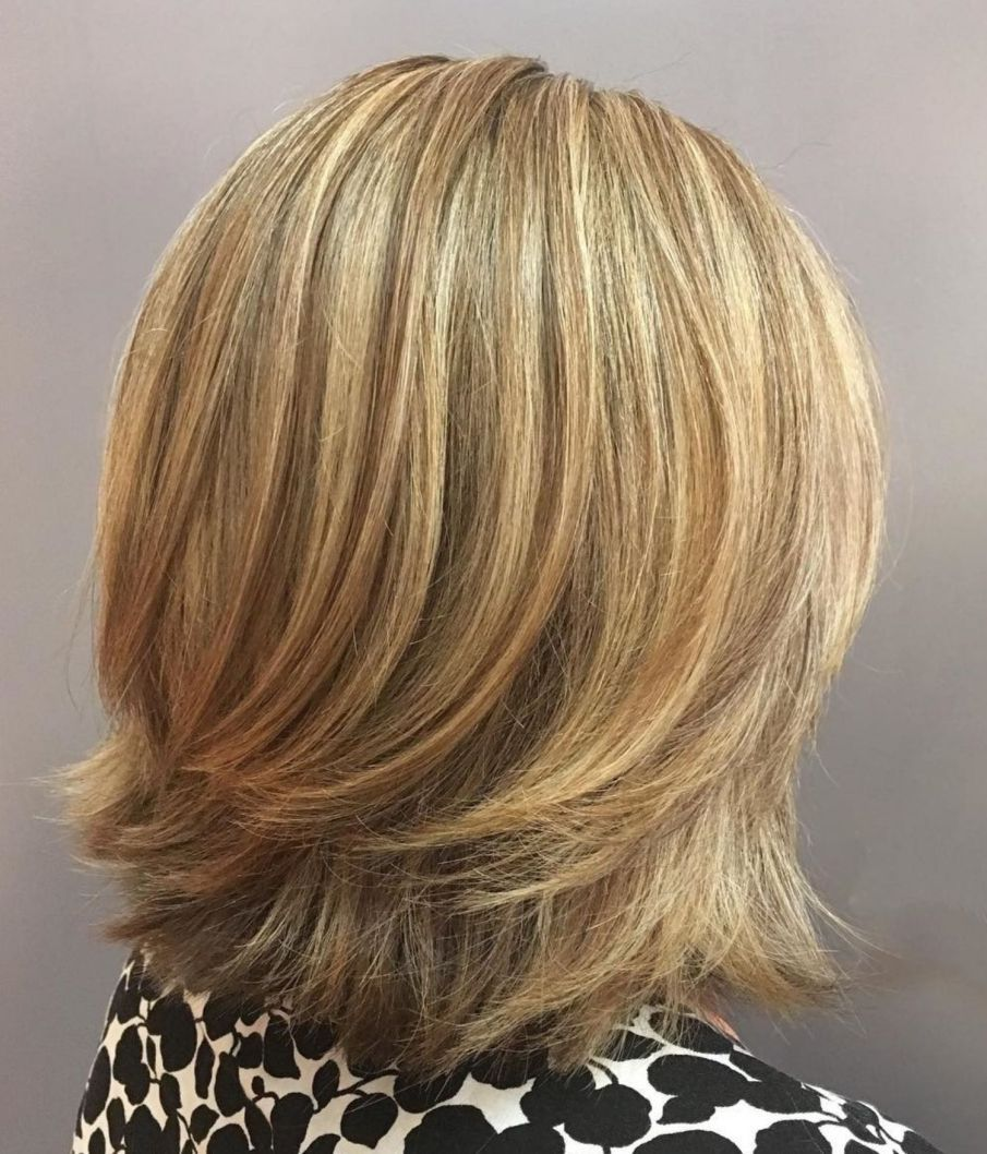 brightest medium layered haircuts to light you up shoulder