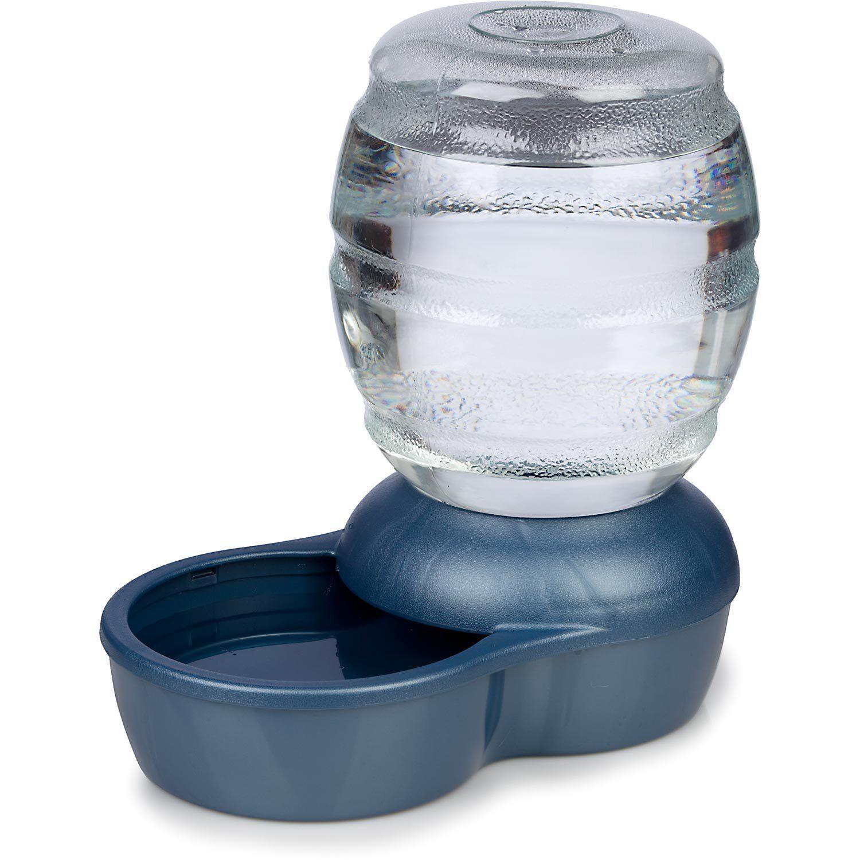 Petmate Replendish Gravity Waterer Blue Dog Bowl 2 5 Gallon
