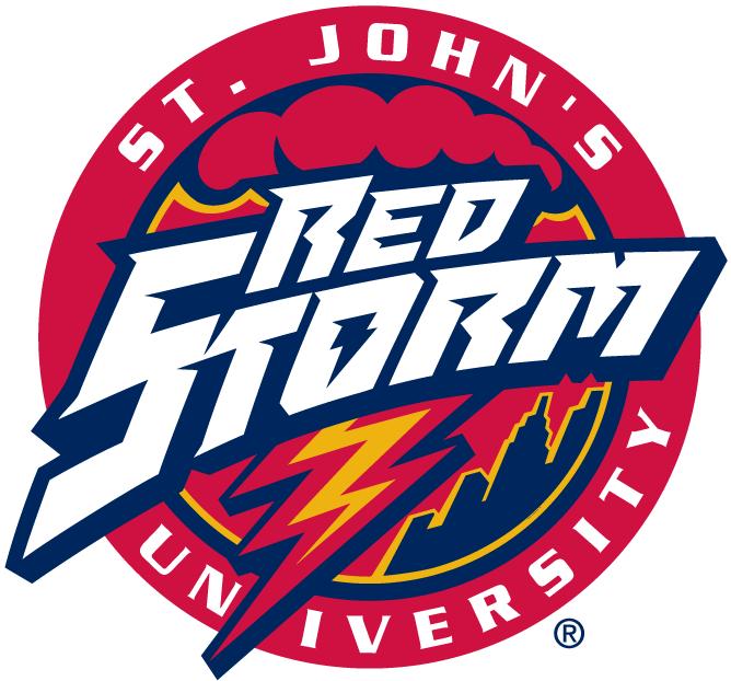 St John S Red Storm Primary Logo Ncaa Division I S T Ncaa S T Chris Creamer S Sports Logos Page Sportslogos Net In 2020 Sports Team Logos Logos Sports Logo