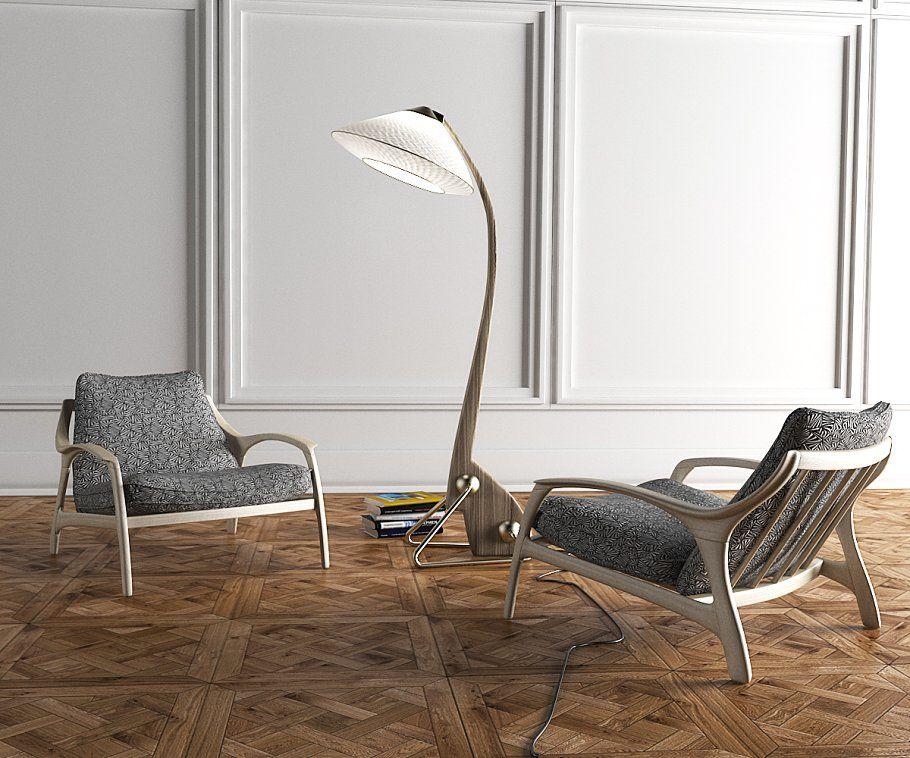 Intru floor lamp Floor lamp, Flooring, Interior props