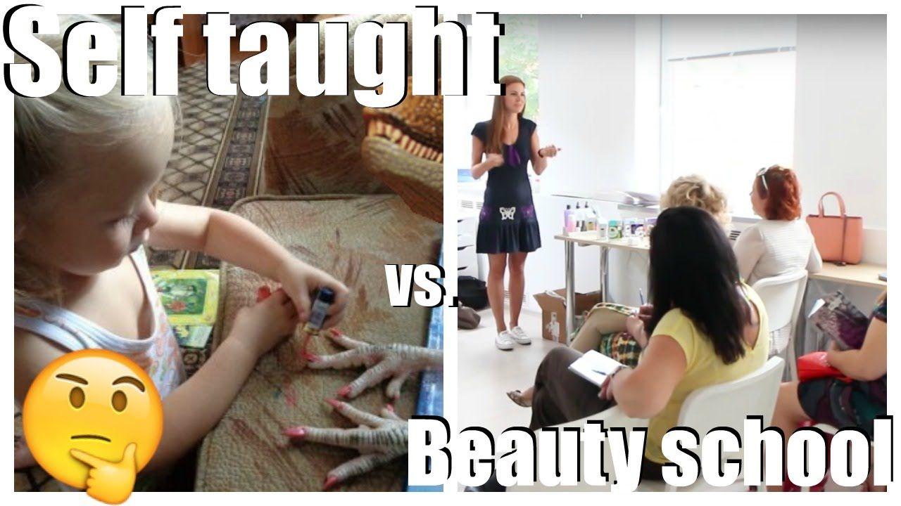 Self taught nail technician vs. Beauty school Is it
