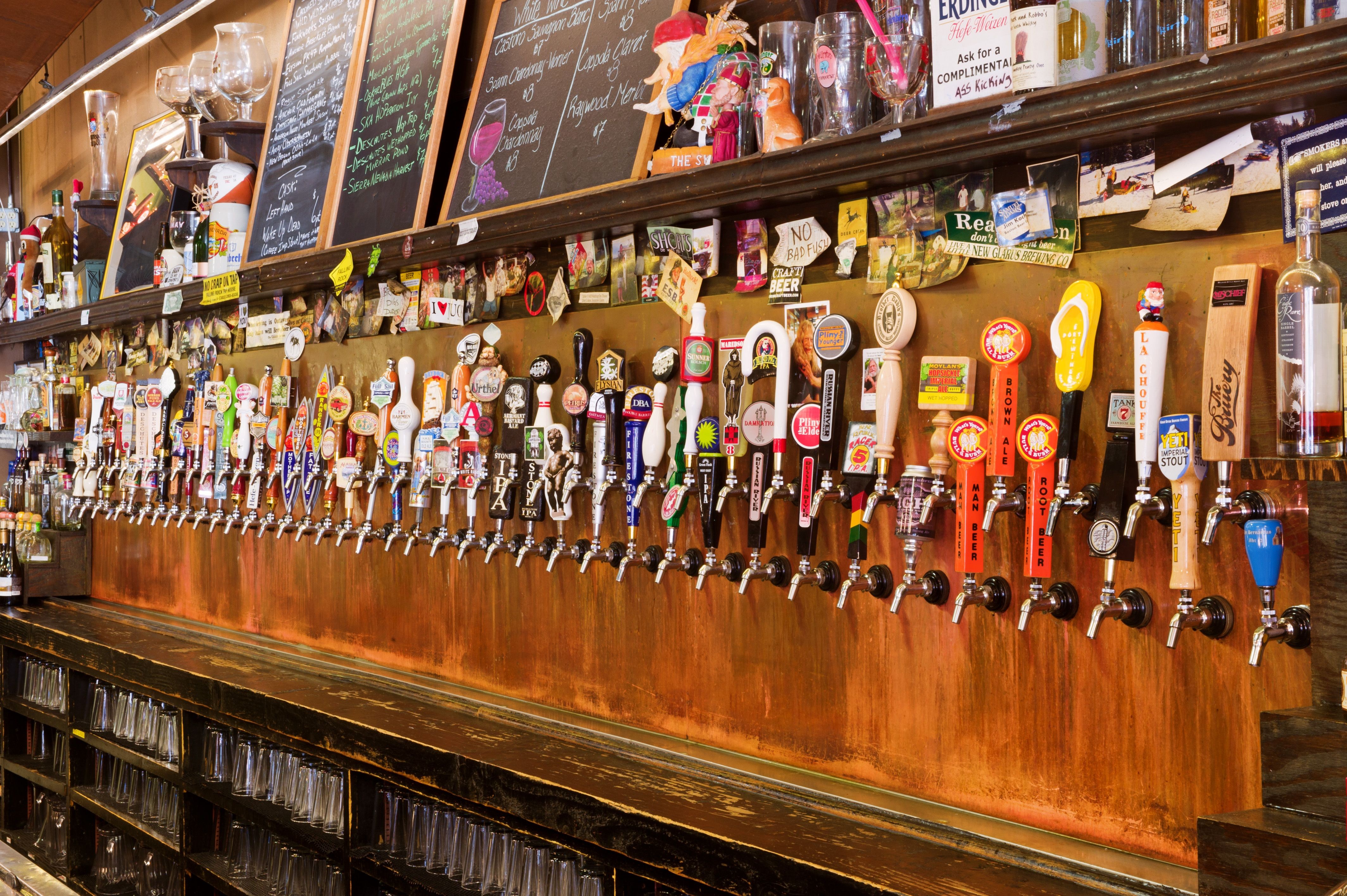 FALLING ROCK TAP HOUSE (Denver, CO) - Classic beer bar Falling Rock ...