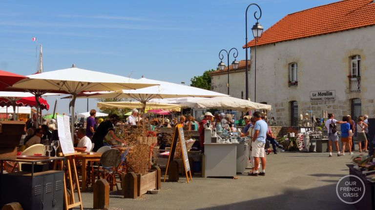 French outdoor market