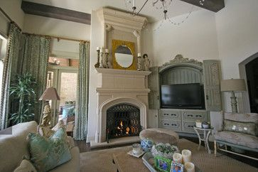Bentley With Overmantel Transitional Living Room Oklahoma City Devinci Cast Stone Fireplaces For Sale French Stone Fireplace Stone Fireplace Mantel