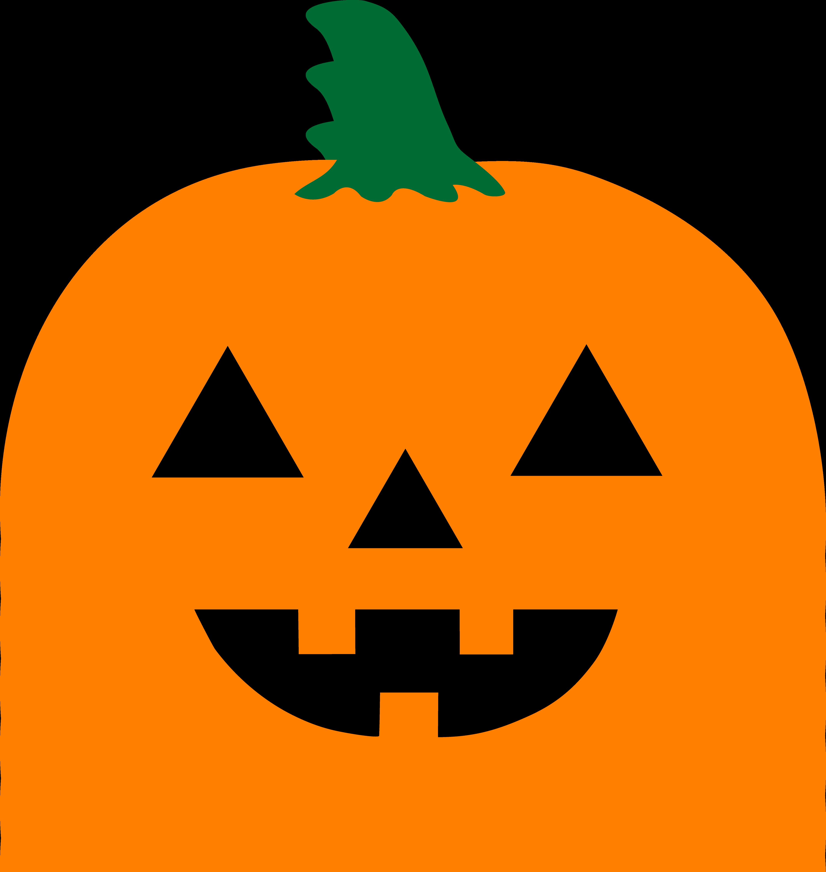 Simple Halloween Jack O Lantern , Free Clip Art