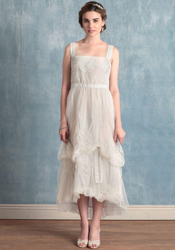 photo of Ruche | White dresses | Pinterest | Wedding dress, Short ...
