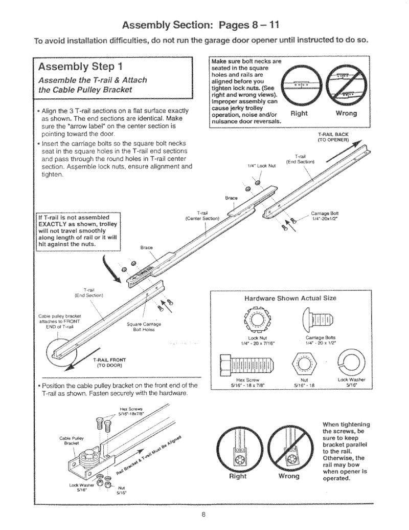 9 Gorgeous Craftsman Garage Door Manual