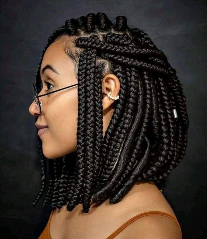 Jolie Coiffure Short Box Braids Hairstyles Braids For Black Hair Natural Hair Stylists
