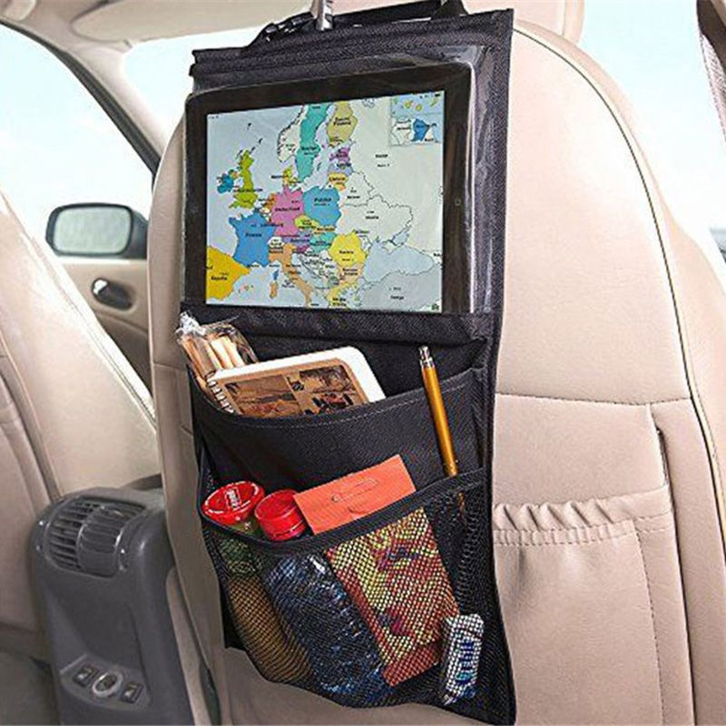 1 stück Zurück Autositz Veranstalter Wallet Tablet Tasche Für pad - farben im interieur geschickt eisetzen 3d visualisierung