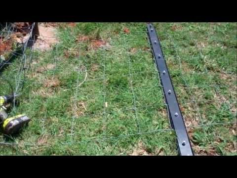 Stretching A Woven Wire Fence Youtube Wire Fence Pasture Fencing Fence