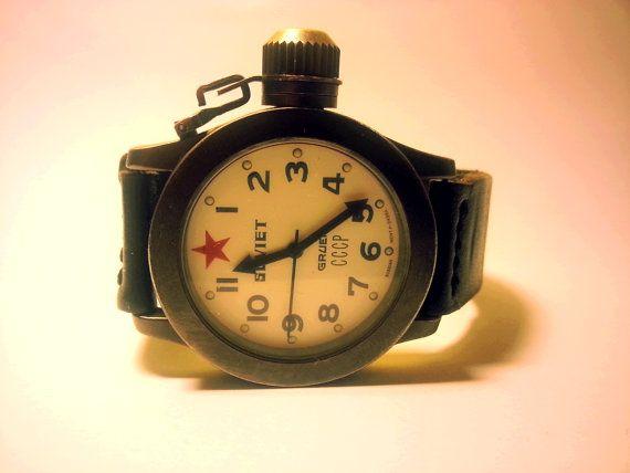 Guarda questo articolo nel mio negozio Etsy https://www.etsy.com/it/listing/204728721/vintage-base-metal-gruen-soviet-watch