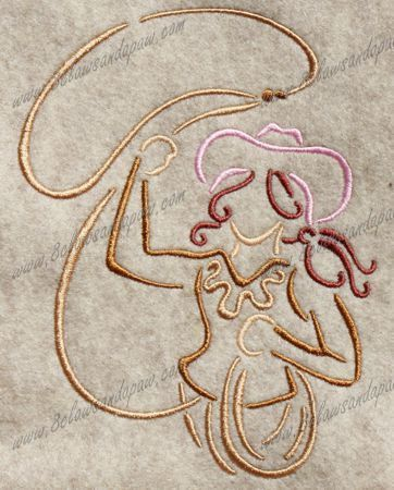 Hey, I found this really awesome Etsy listing at https://www.etsy.com/listing/83414308/cow-girl-embroidery-design-9