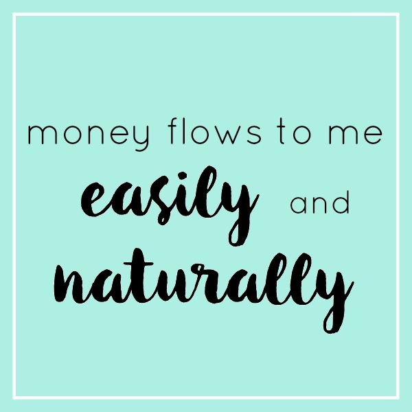 7 Money Affirmations That Work - I heart extra income