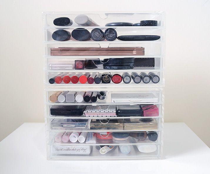 Muji Makeup Organizer Classy My Muji Makeup Storage Acrylic Makeup Storage Drawers Muji