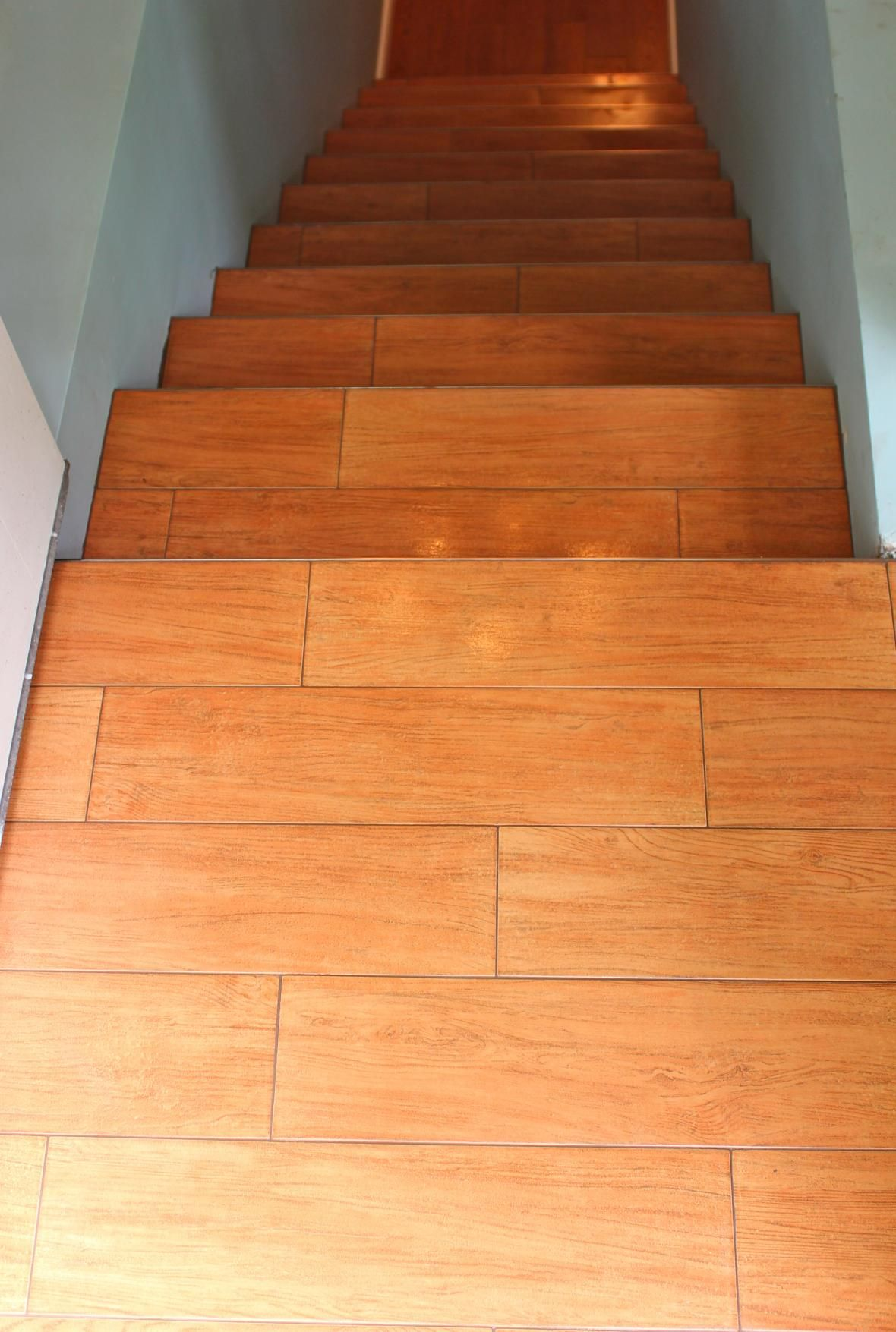 Wood like tile stairs the home pinterest tile stairs woods wood like tile stairs dailygadgetfo Gallery