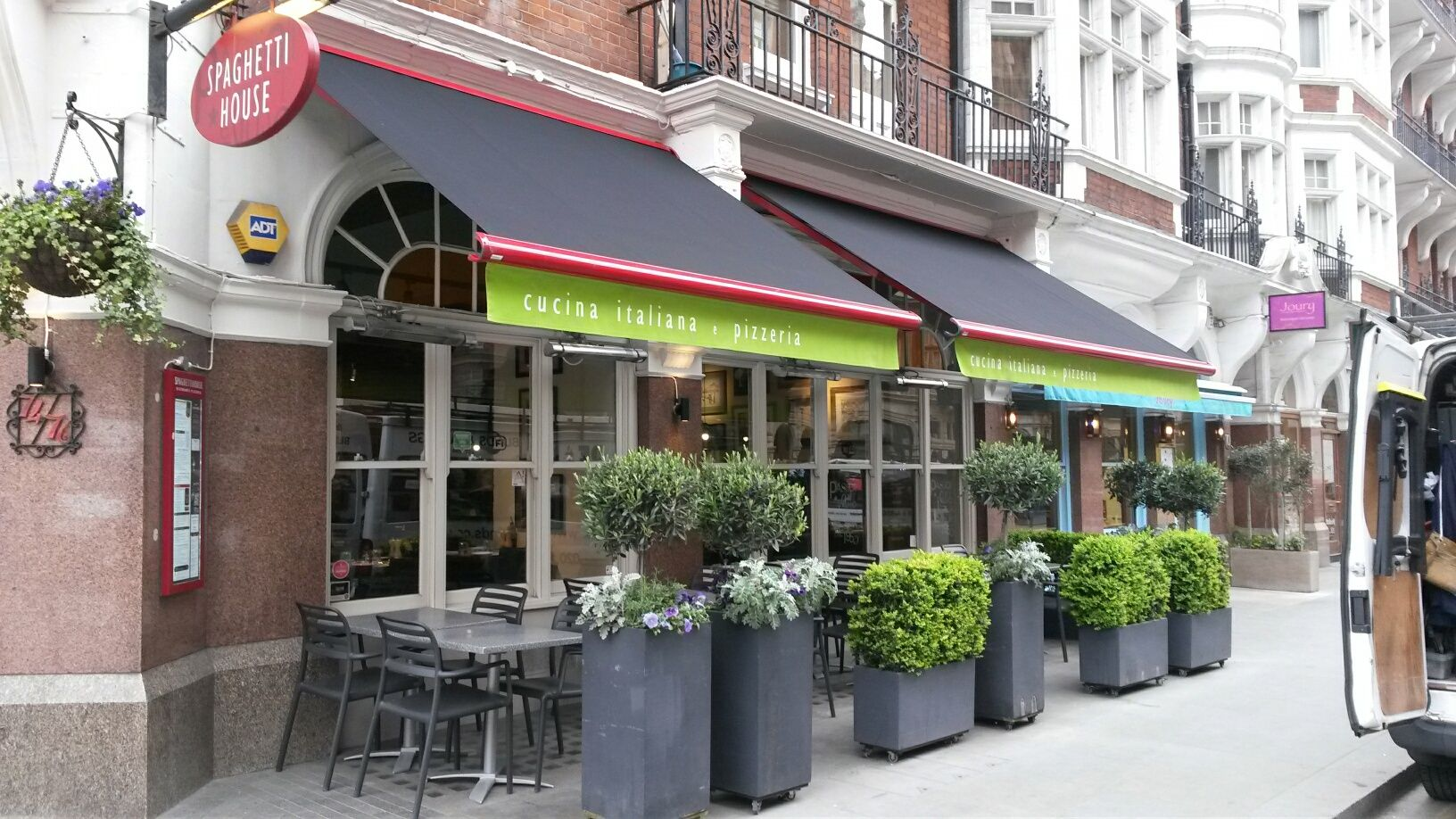 New Awnings For Spaghetti House By Deans Blinds Awnings Blinds Spaghetti House Commercial Property
