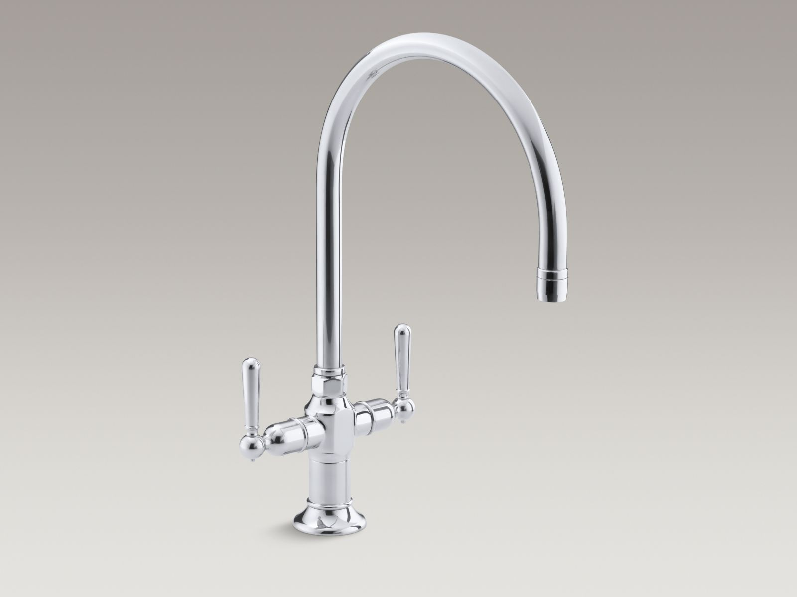 Kohler K 7341 4 S Hirise Single Hole Two Handle Kitchen Faucet With