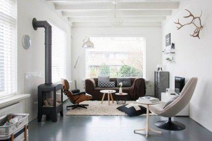scandinavische-woonkamer inclusief Faber gashaard Jelling ...