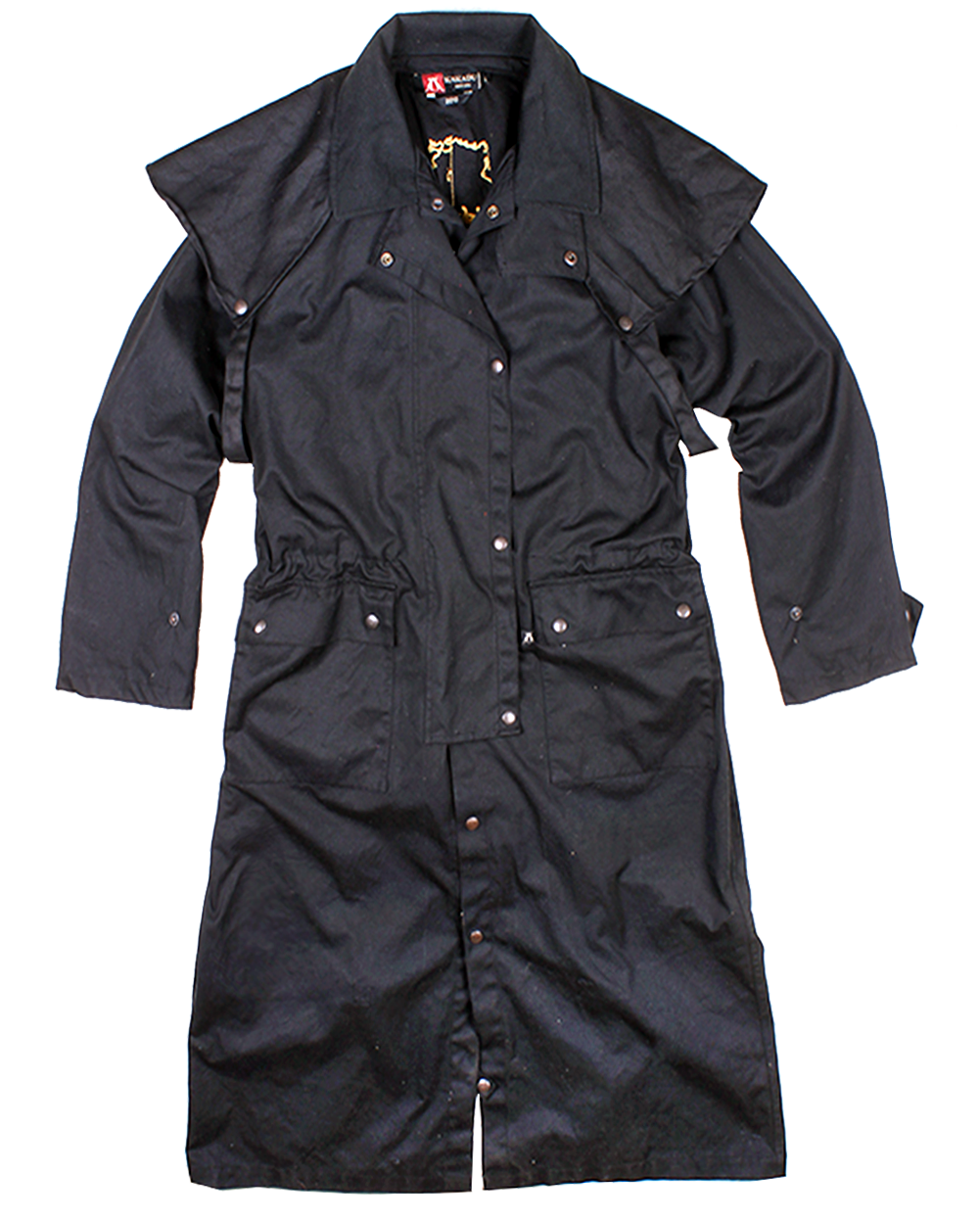 Workhorse Drovers Coat, black