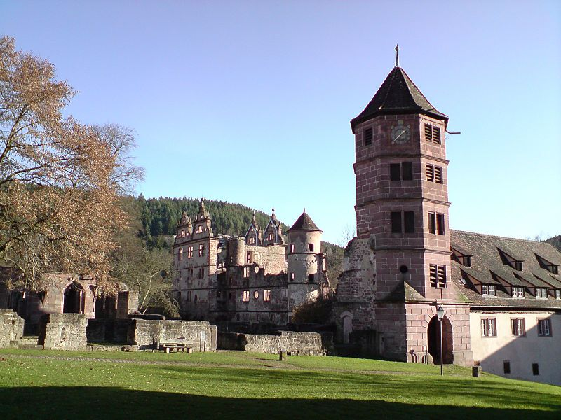 Hirsau Abbey,known as Hirschau Abbey,was once one of the