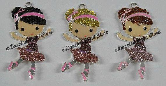 Hey, I found this really awesome Etsy listing at https://www.etsy.com/listing/265446783/ballerina-girl-rhinestone-pendant-51mm-x